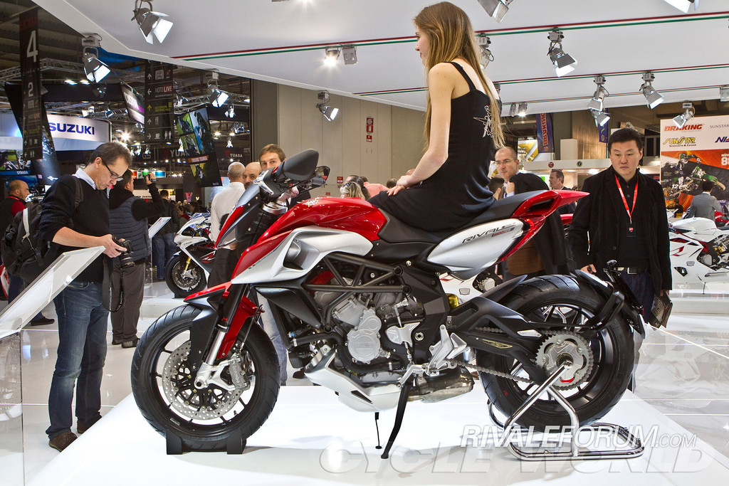 MV Agusta Girls at EICMA